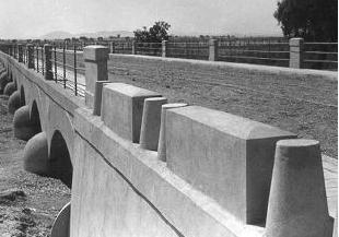 Puente sobre el río Gargáligas